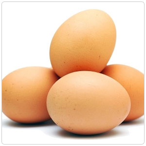 Eggs, Organic Grade A Large Brown