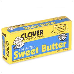 Sweet, Unsalted Butter - 30/1 #
